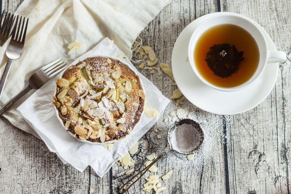 Baked Almond Tart