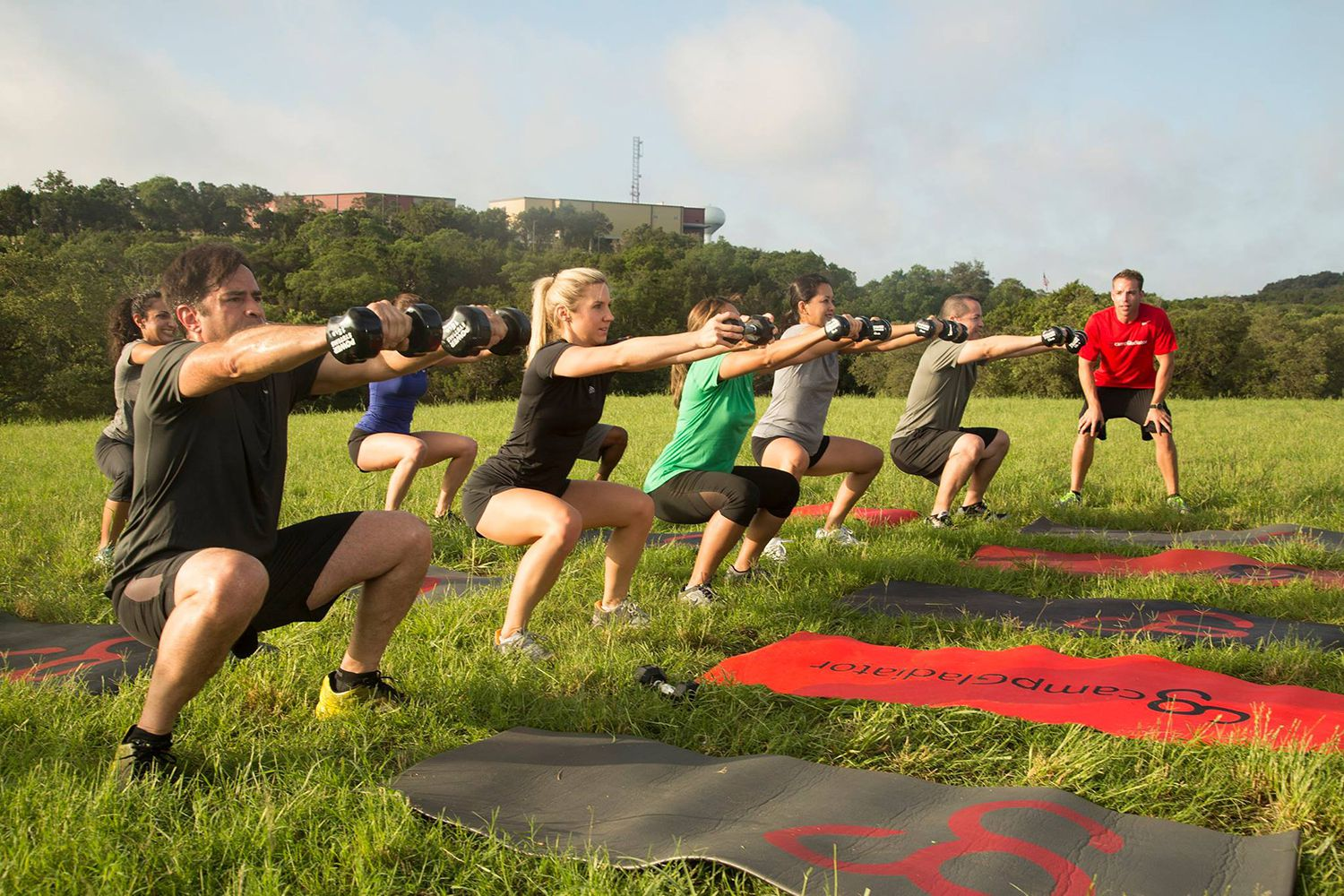 Camp Gladiator Reviews Outdoor Boot Camp Workout