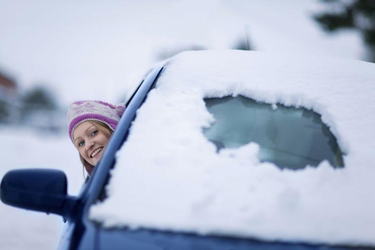 Driving in Michigan Winter