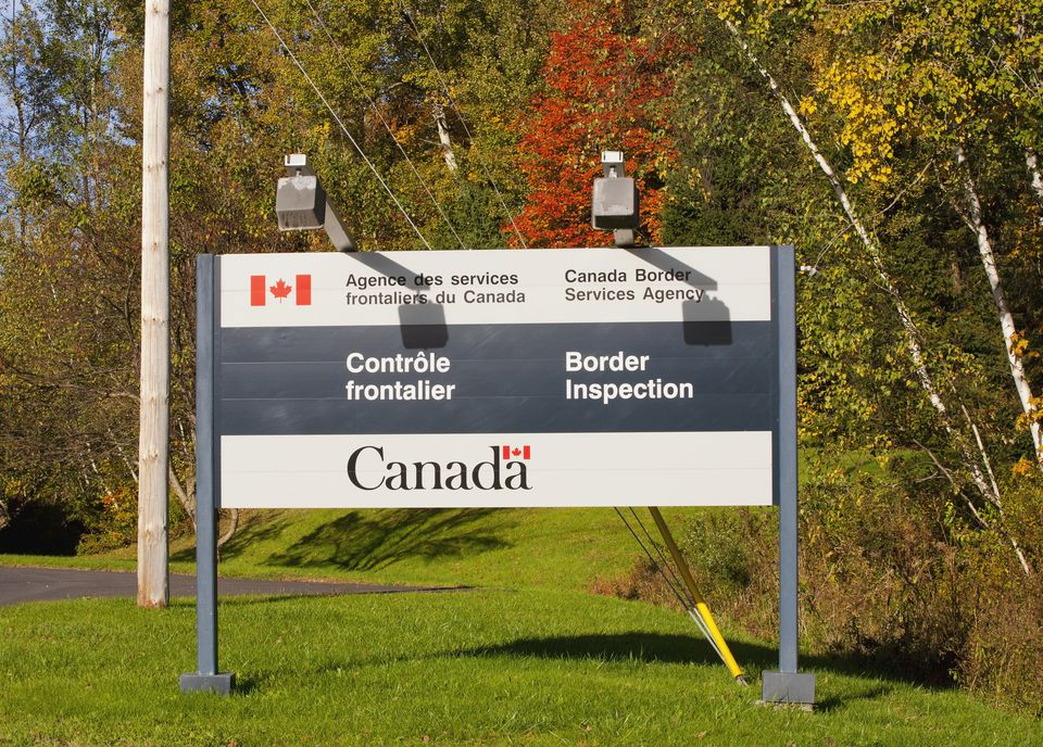 Buffalo Niagara Falls Border Crossings - Border checkpost us map