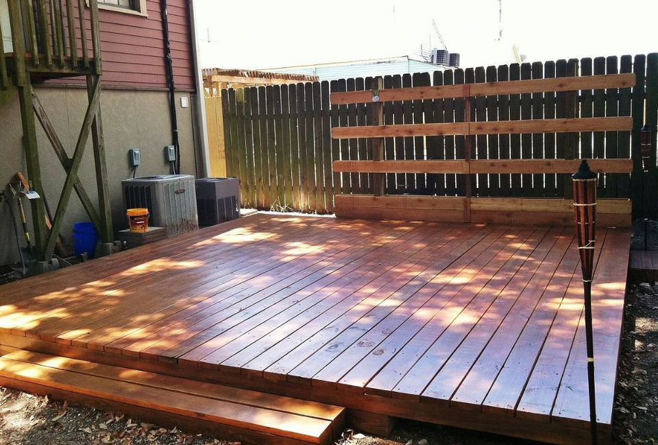 New Orleans DIY Backyard Deck