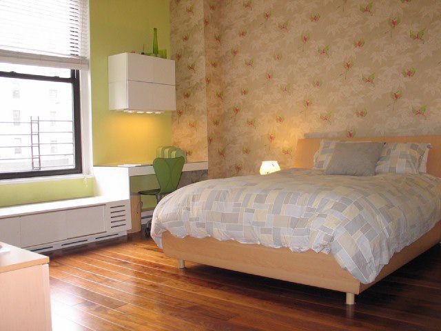 hardwood bedroom