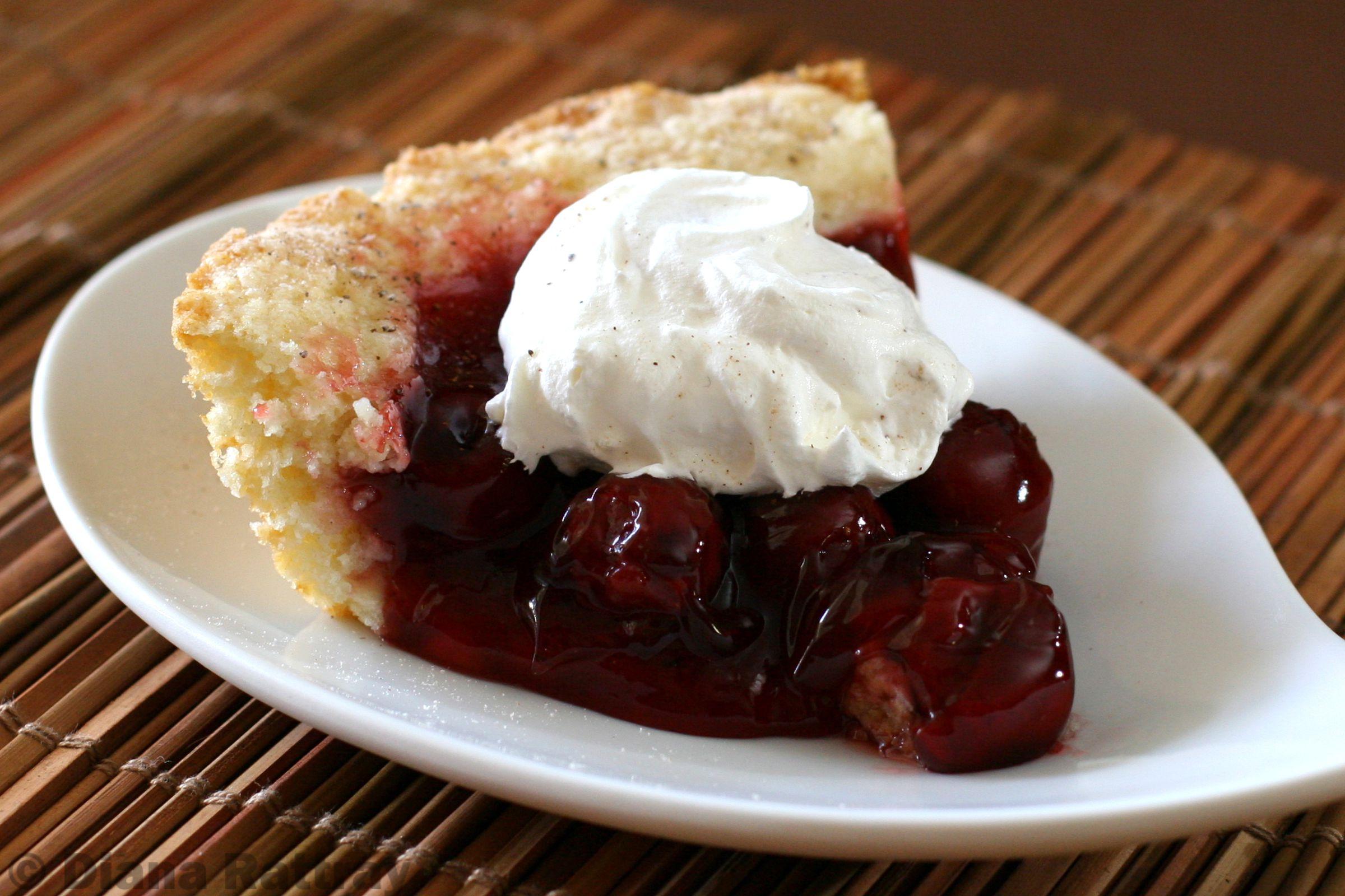 Easy Cherry Cobbler Pie Recipe