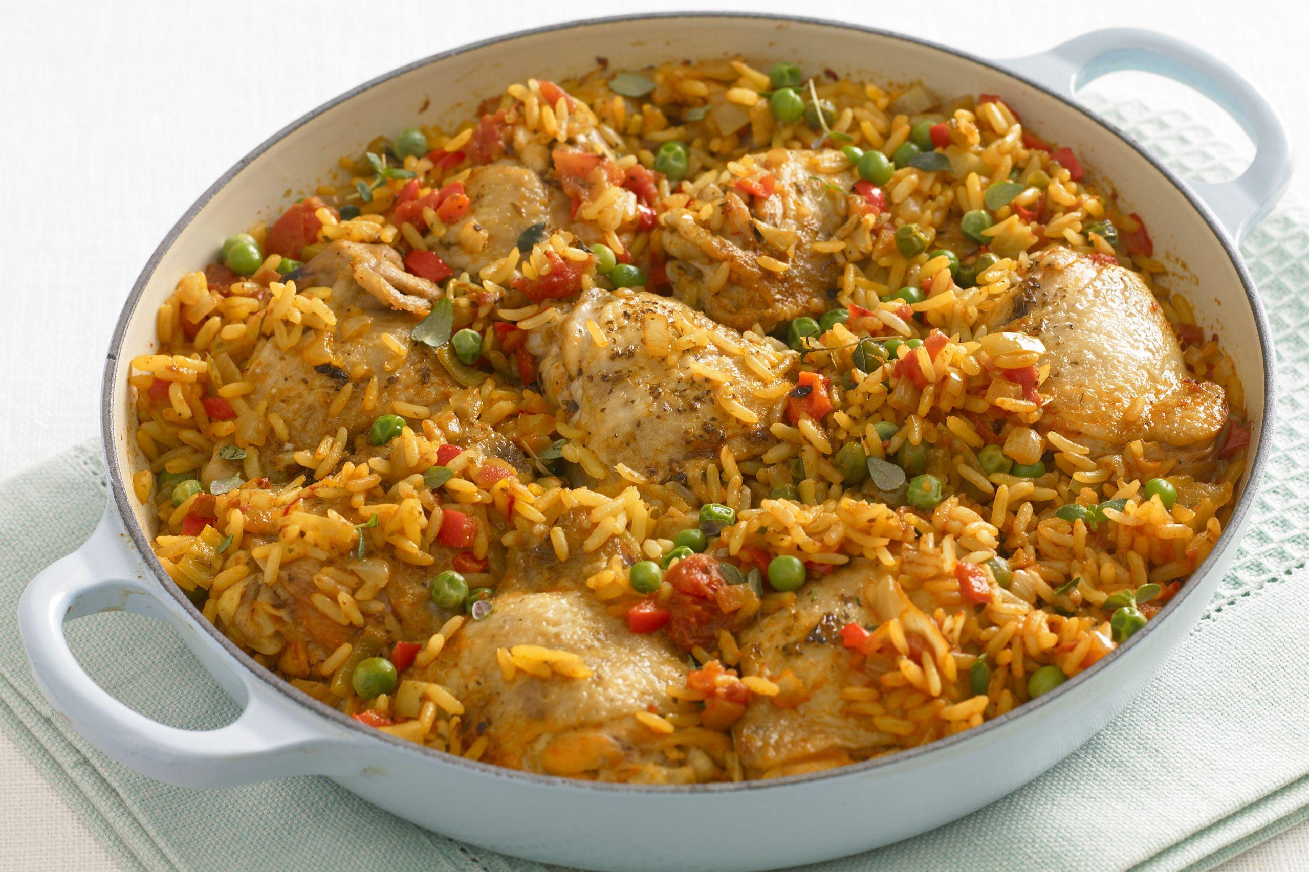 Florida style arroz con pollo recipe - Arroz salteado con pollo ...