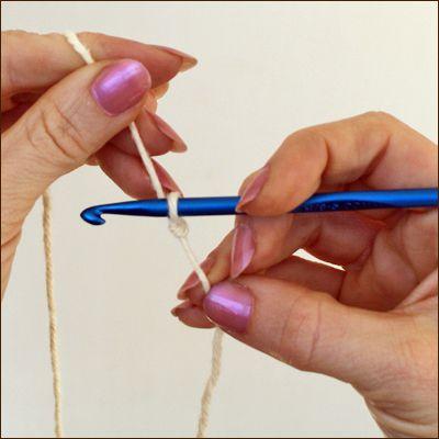 Making a Slip Knot