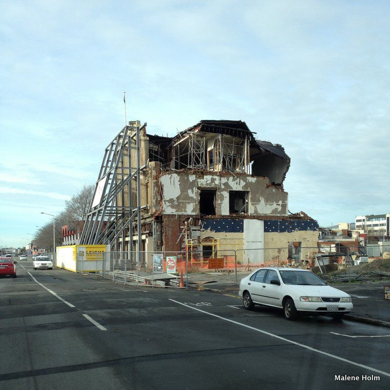Christchurch Inner City after the Earthquakes