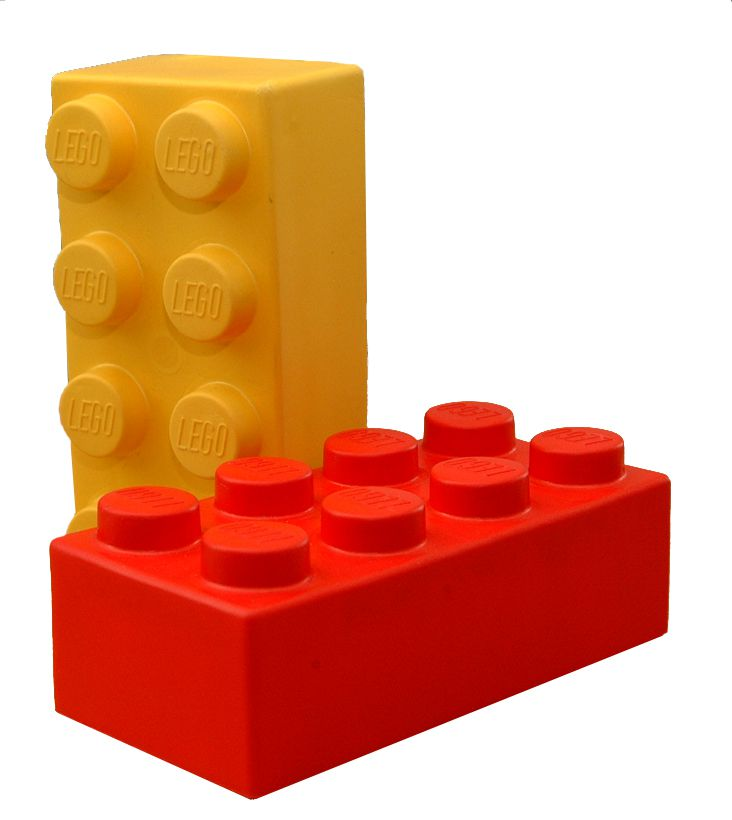 A picture of LEGO toy bricks.