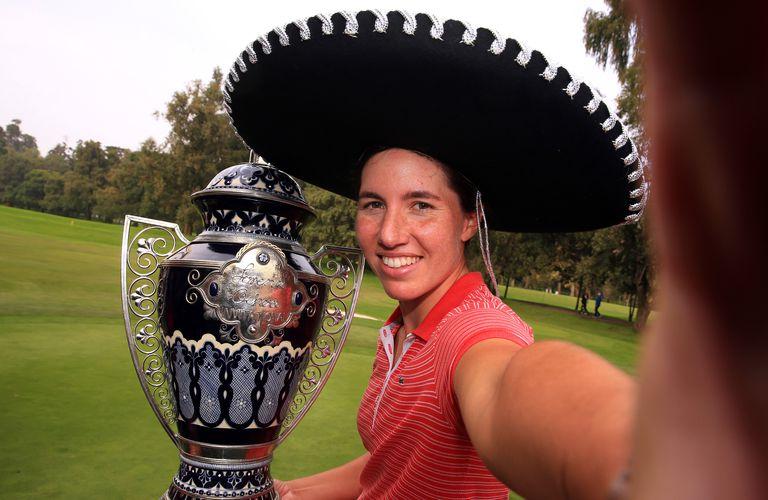Lorena Ochoa LPGA tournament winner Carlota Ciganda in 2016