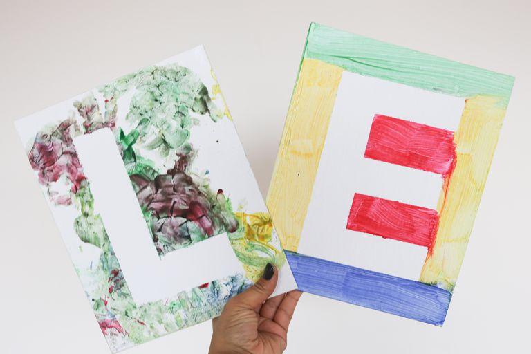 Ideas Decorar Letra Blanca Con Plateado