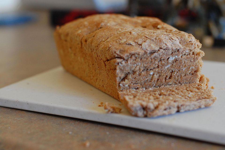 Whole wheat honey oat bread