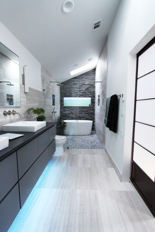 50 beautiful bathroom ideas for Beautiful modern bathrooms