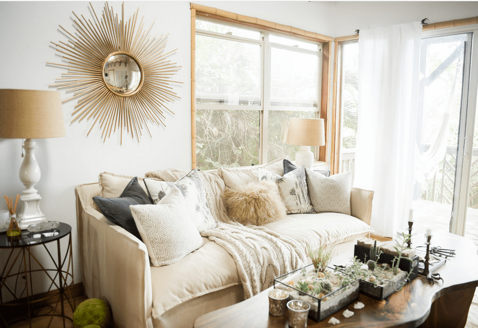 Bohemian Glam Living Room Boho