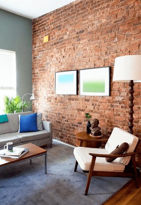 C mo limpiar y restaurar paredes de ladrillo interior for Paredes exteriores decoradas