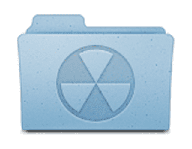 Screenshot of the FPBF Burn Folder in Mac OS X