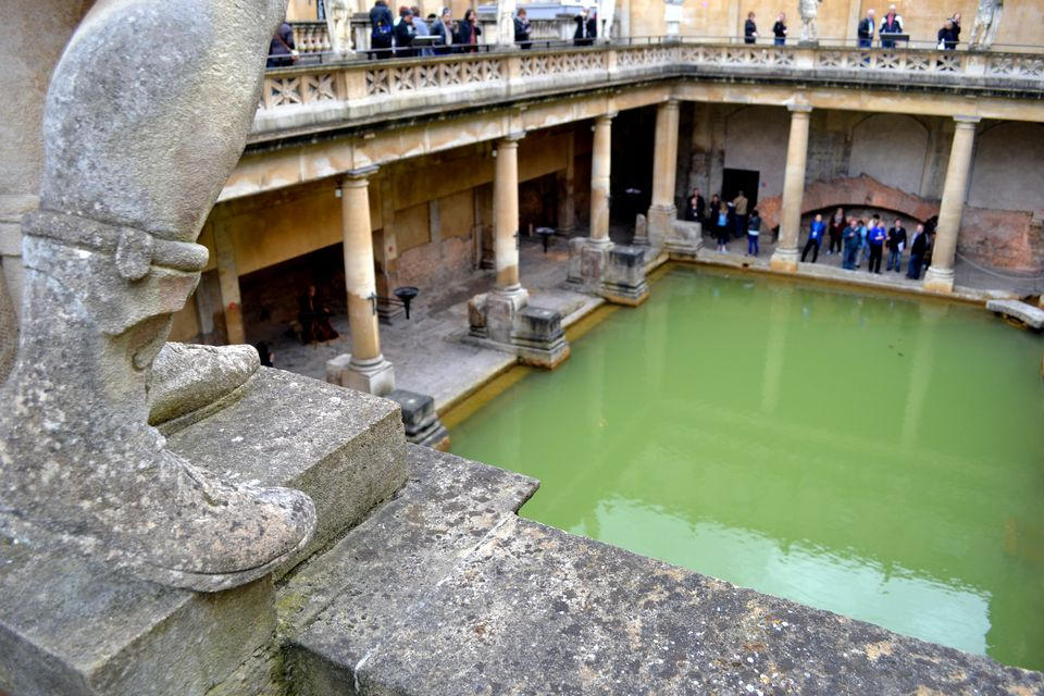 Bathing in Bath as the Romans Did