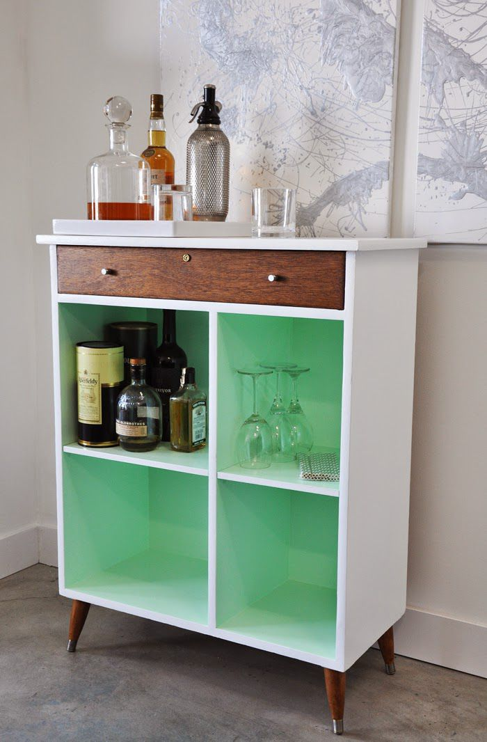 Diy home bars perfect for small space entertaining - Bars for small spaces ...