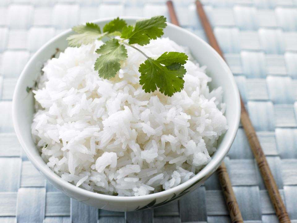 Bowl of Sticky Jasmine Rice