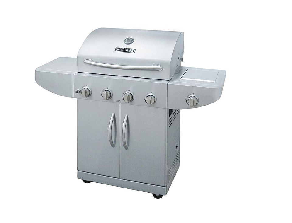 Master Forge 4 Burner Model 97709 Gas Grill Review