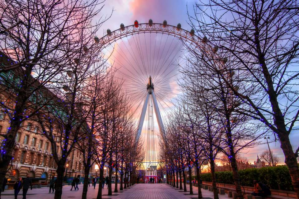 London Eye, South Bank, London, England