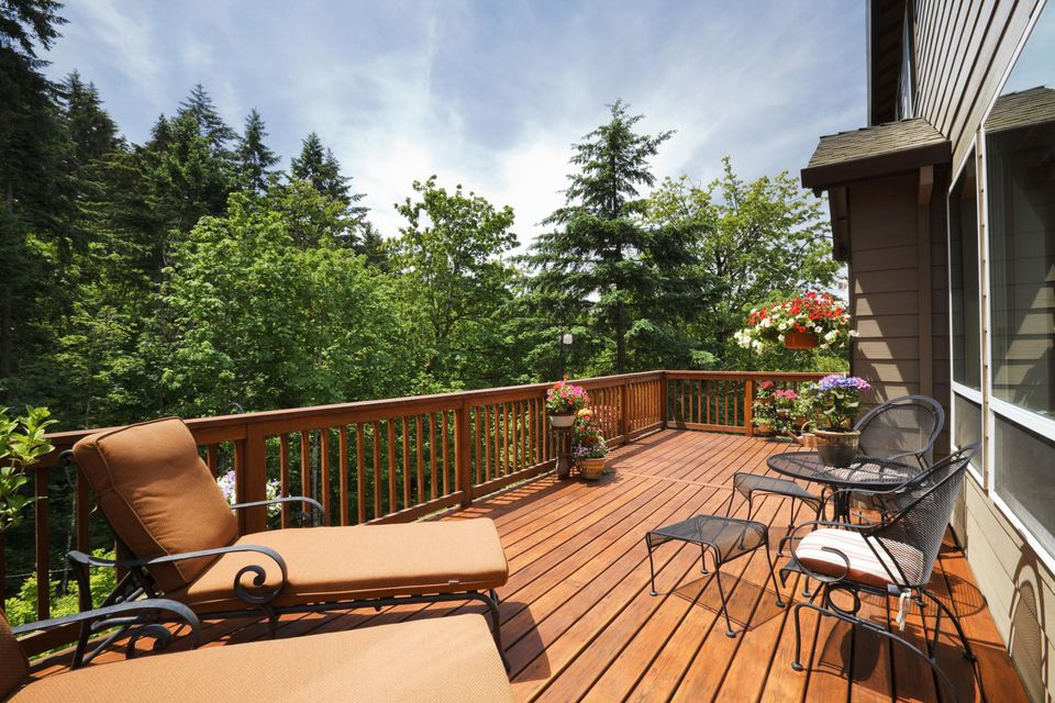Building Code Guidelines Decking Railing Heights Guards And Stairs - Building deck stairs railing