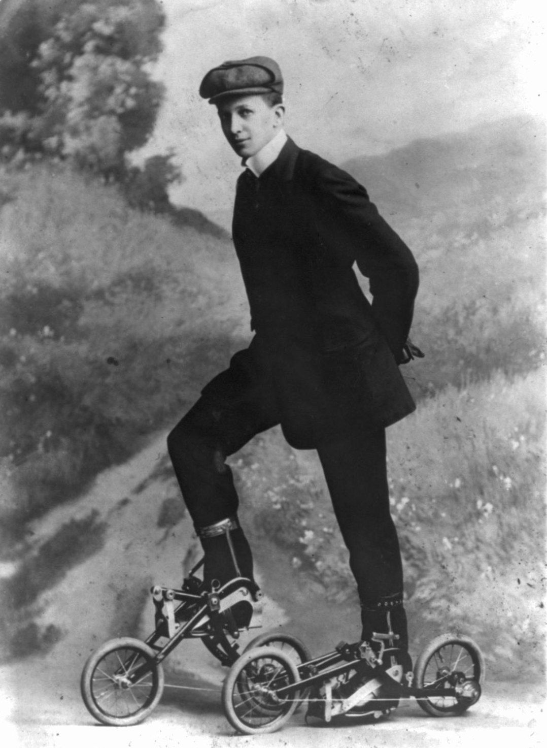 the wild history of roller skates