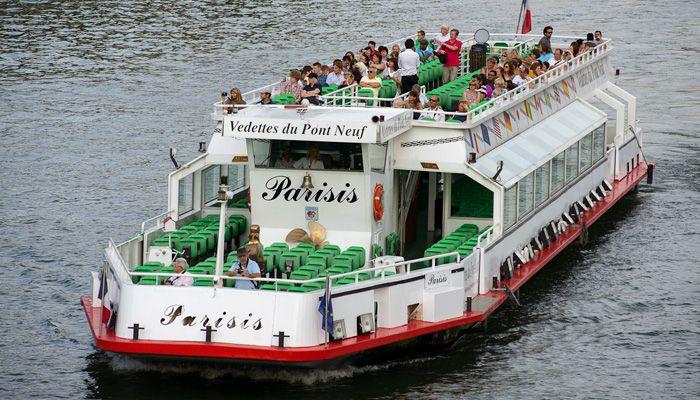 The Vedettes du Pont Neuf fleet includes four boats.