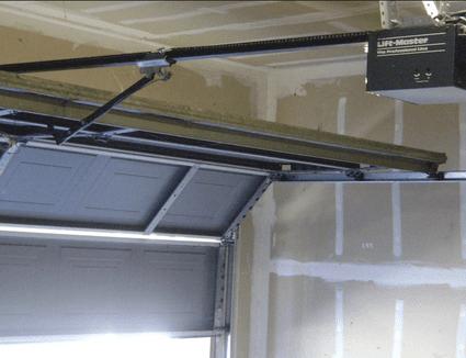 Garage door openers and garage security for 10 x 11 garage door