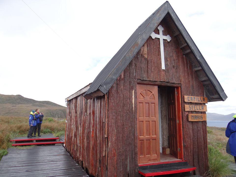 Small chapel at Cape Horn