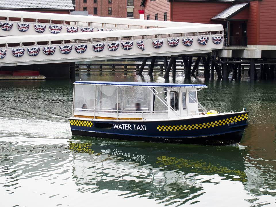 Boston Water Taxi Airport Transportation