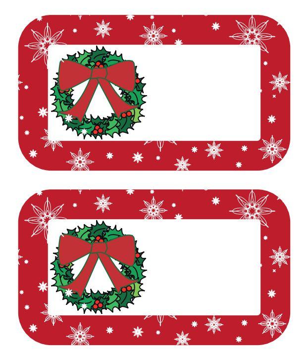 christmas presents clip art borders. a gift tag with red border and wreath christmas presents clip art borders