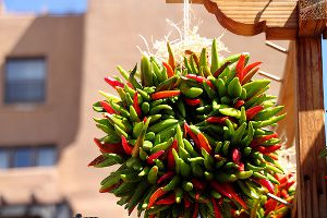 Chili Peppers in Santa Fe
