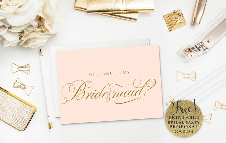19 free printable will you be my bridesmaid cards sea paper designs will you be my bridesmaid cards pronofoot35fo Image collections