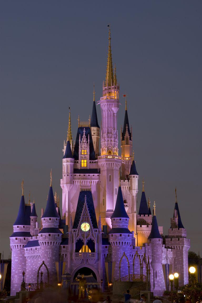 The Magic Castle at Disney's Magic Kingdom