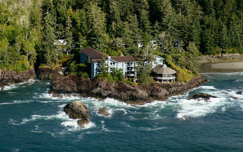 The Wickininnish Inn in Tofino on Vancouver Island, British Columbia