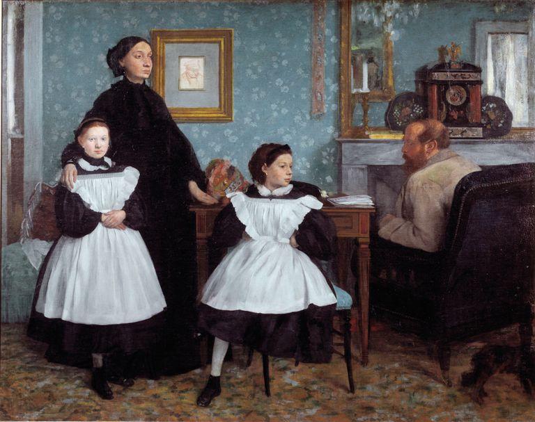 Portrait of the Bellelli Family by Edgar Degas