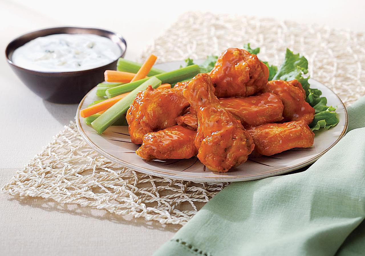 Buffalo chicken wings cooking tips and storage for How to cook buffalo fish