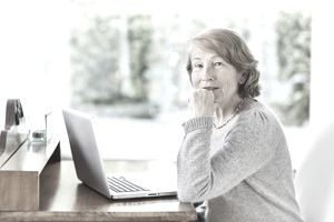Widow who made smart decisions about her Social Security.