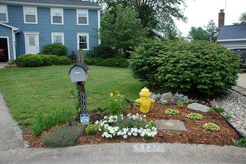 gorgeous mailbox garden ideas