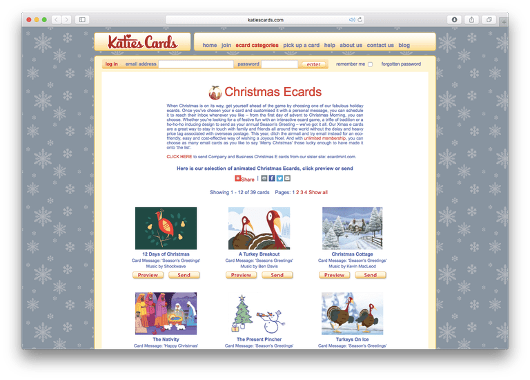 The best christmas e card sites katies cards christmas ecards colourmoves Gallery