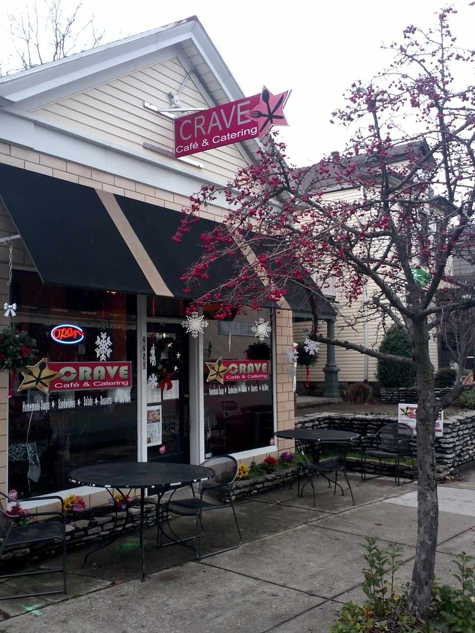 Crave on Frankfort Ave. in Louisville, KY