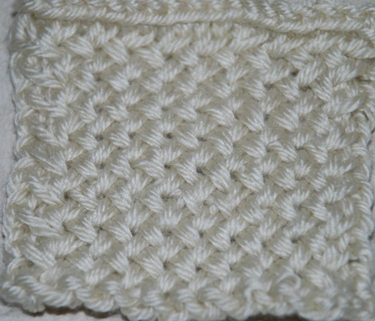 Plaited Basket Stitch