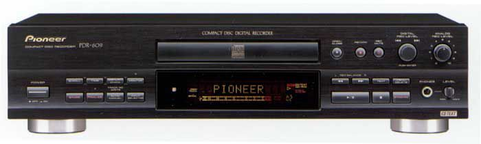 Pioneer Pdr 609 Cd Recorder Product Review