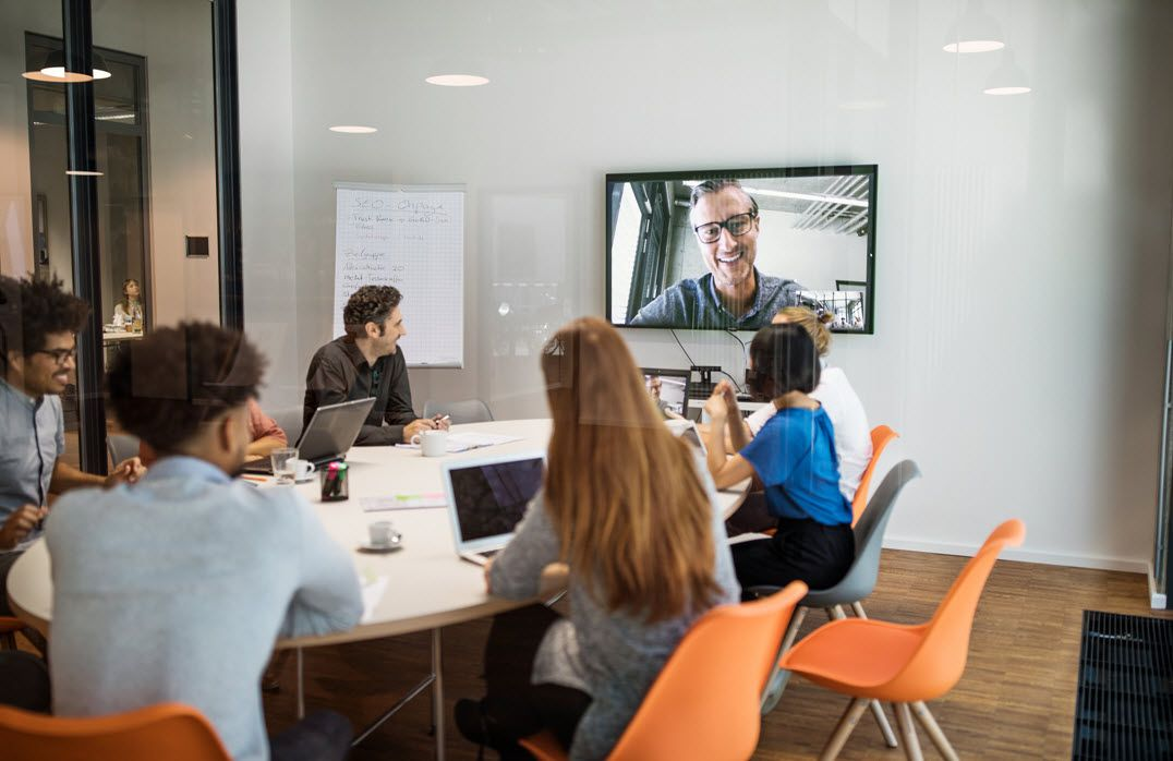 Online meeting site