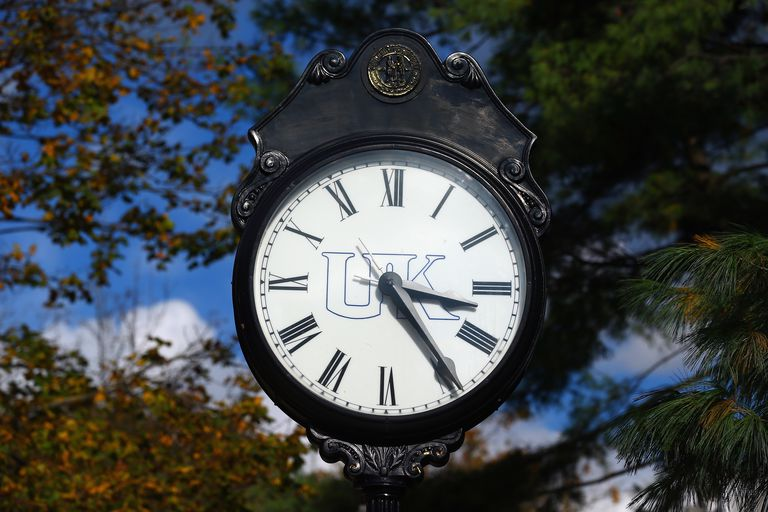 A Clock on the University Of Kentucky Campus