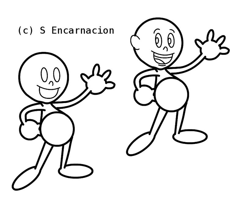 give the character some personality in the face draw cartoon