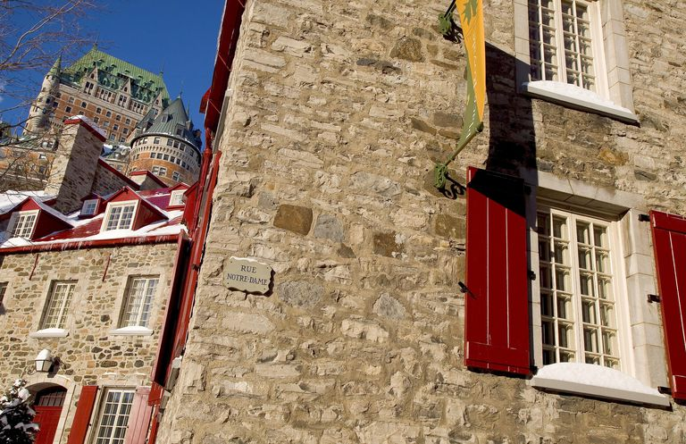 Château Frontenac hotel, Quebec City, Quebec, Canada,