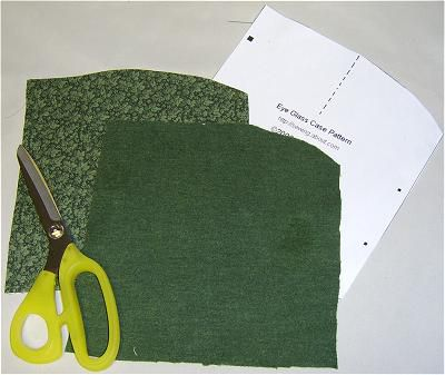 A photo of cut out pattern pieces.