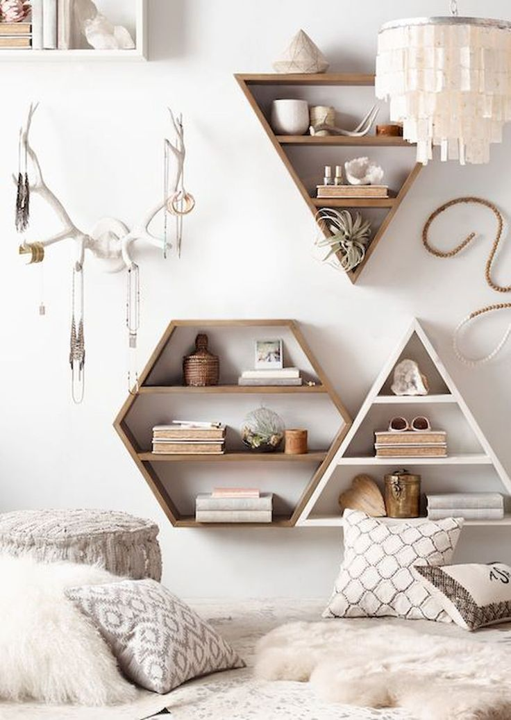 Wall Shelving Dorm Decor