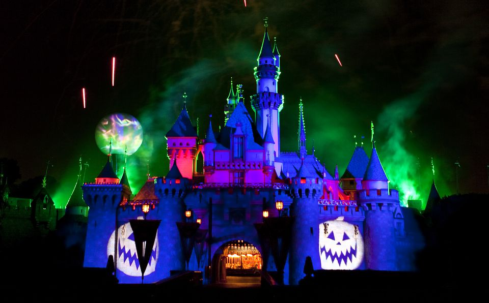 Mickey's Halloween Party at Disneyland in California