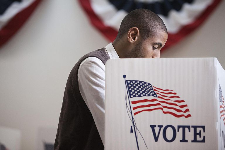 A young Hispanic male voter reflects the shifting demographics of the U.S. electorate in 2016.